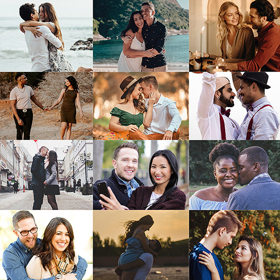 Affiliates Couples - Digital RSVP